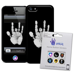 Jerry Garcia iPhone Cases and Accessories | Jerry Garcia Hand iPhone 5/5s Case & Home Button Decals Bundle | Shop the Jerry Garcia Official Store