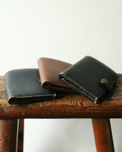 [TIGRE BROCANTE] Leather Wallet