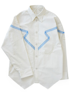 LOVE online store|MEN  Rounge Shirt Series-Western (Egg Shell)