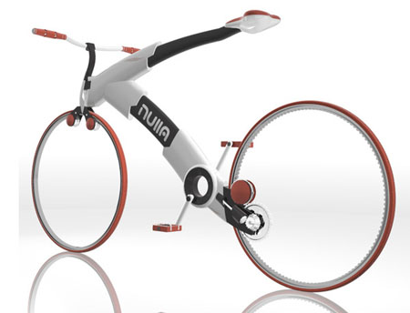 Nulla Minimalist and Stylish Bike Concept | Tuvie