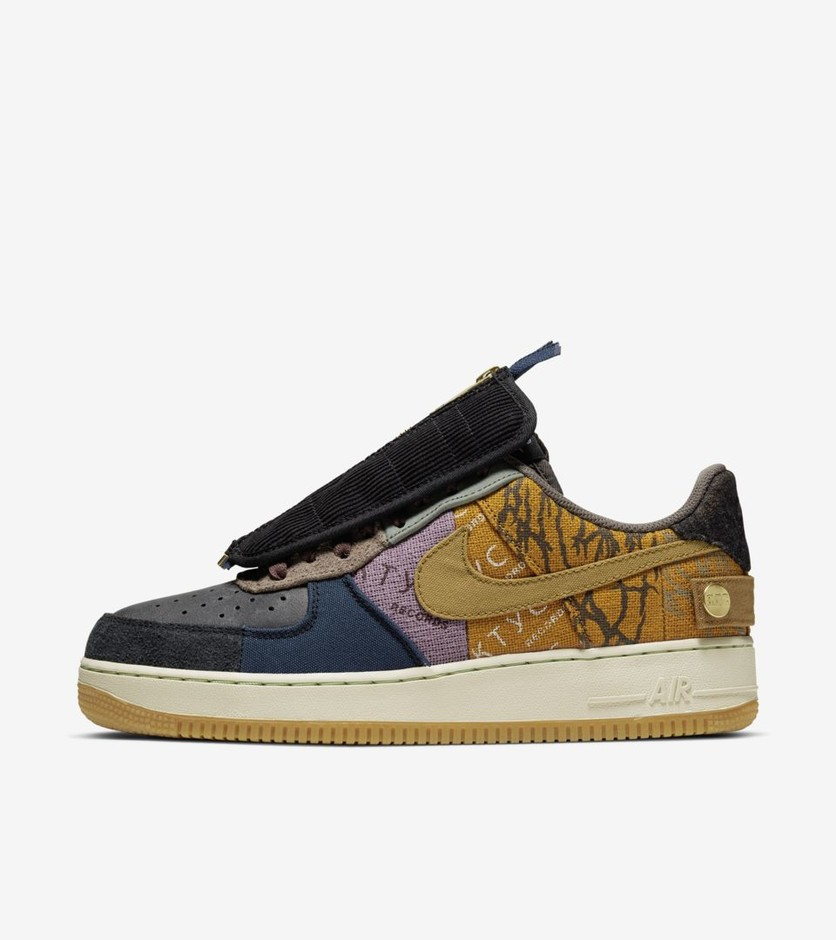 Air Force 1 'Cactus Jack' Release Date. Nike SNKRS