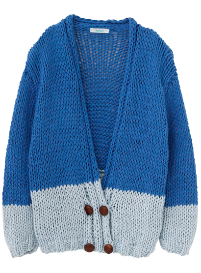 Knit cardigan / MAIAMI   STUNNING LURE online store