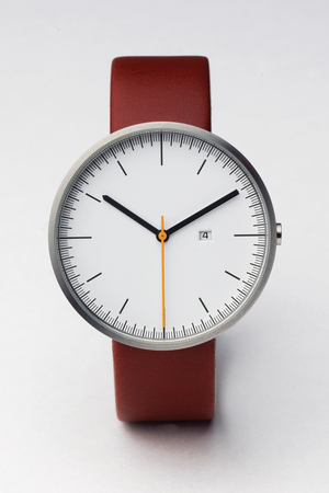 200 Series (Brushed / Cherry Red Leather)   Uniform Wares