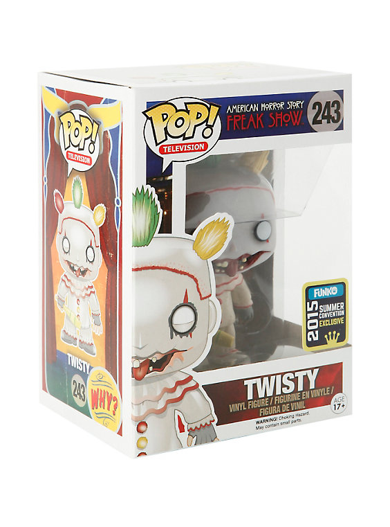 Funko American Horror Story: Freak Show Pop! Twisty (No Mask) Vinyl Figure 2015 Summer Convention Exclusive | Hot Topic