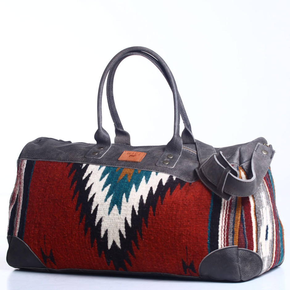 WILL LEATHER GOODS / Oaxacan Duffle