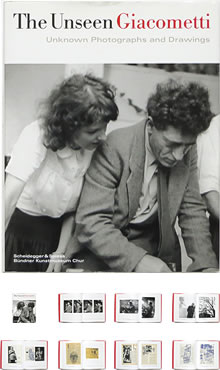 The Unseen Giacometti: Unknown Photographs and Drawings 知られざるジャコメッティ - OTOGUSU Shop オトグス・ショップ