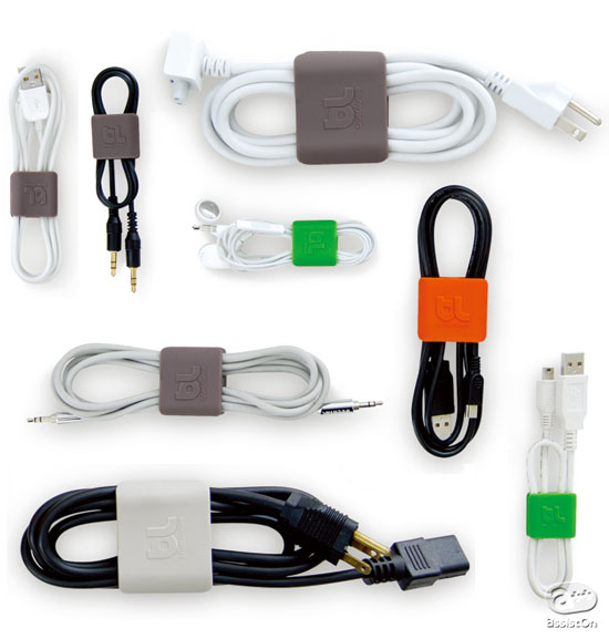 """AssistOn / bluelounge """"cable-clips"""""""