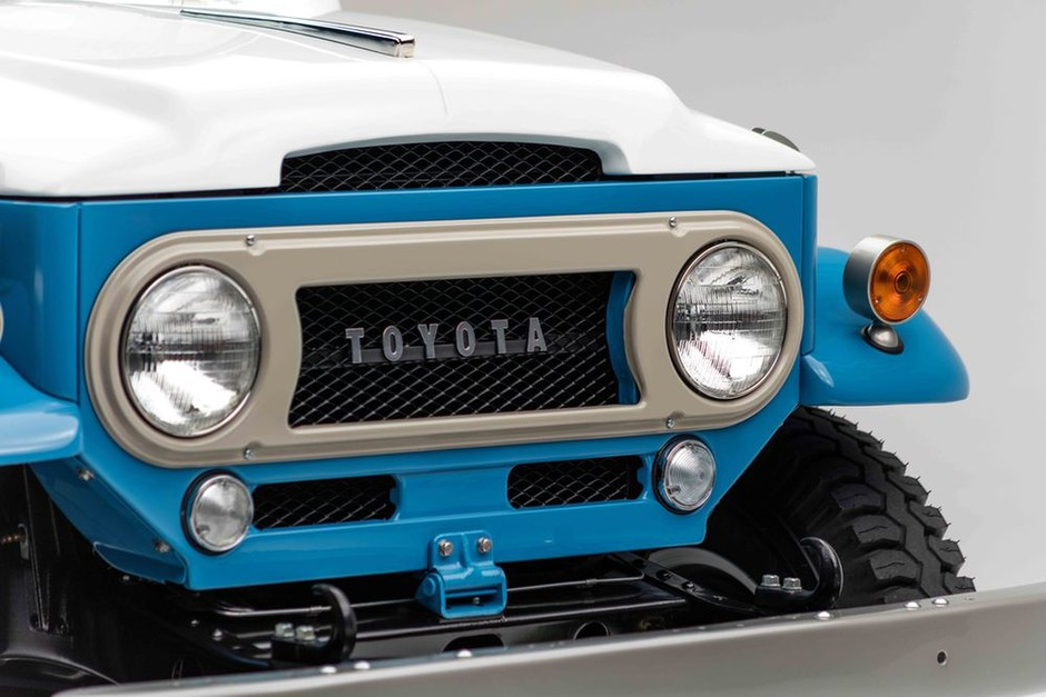How Often Do You See A Toyota Land Cruiser FJ45LV Restored By Nut And Bolt? - Petrolicious