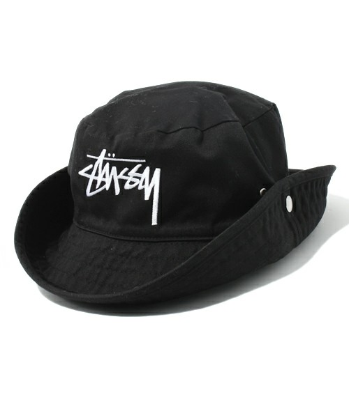 STUSSY LIMITED(ステューシーリミテッド) | Stock Snap Button Crushe(ハット) - ZOZOTOWN