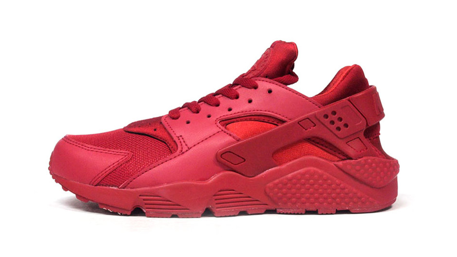 """AIR HUARACHE """"LIMITED EDITION for NSW BEST"""" RED/RED ナイキ NIKE 