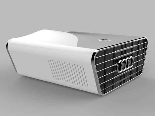 Audi Concept Projector by Kyuho Song » Yanko Design