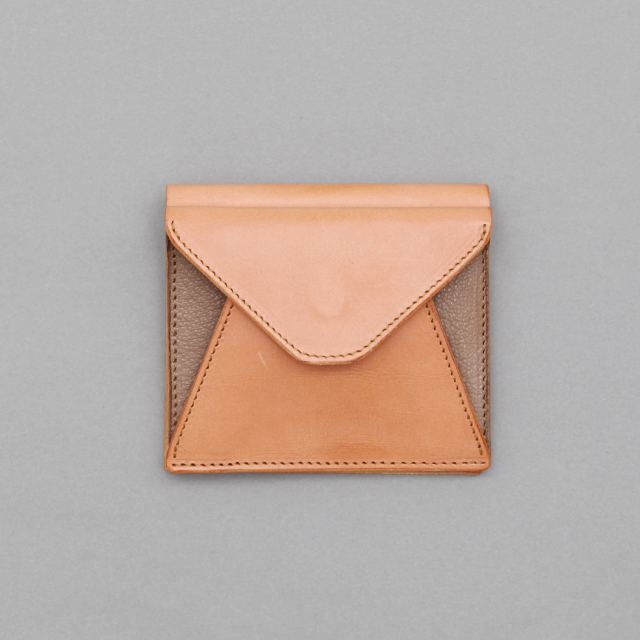 MOTORATORY Mini Wallet - Goat - Silver and Gold Online Store