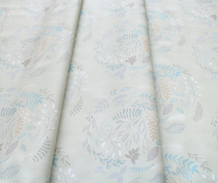【METERS / 1m単位】Art Gallery Fabrics Serenity Fusion Wreathed Serenity / USAコットン輸入生地通販