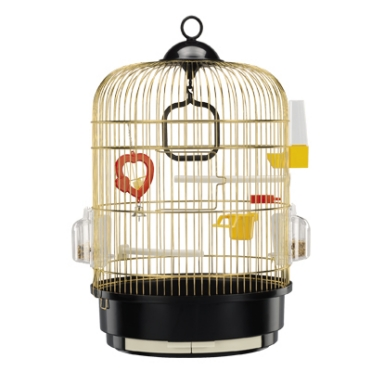 round cage for small birds, Cages Round cages Small Regina ottonata manufacturer shop - FERPLAST