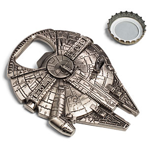 ThinkGeek :: Star Wars Millennium Falcon Bottle Opener