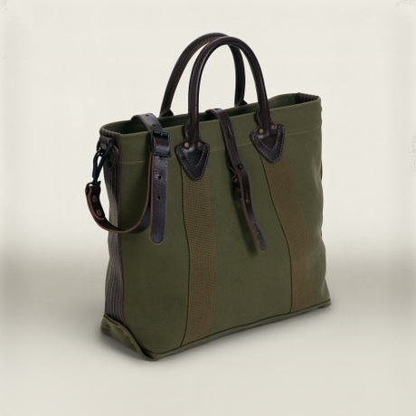 Rrl Canvas Coffman Tote in Green for Men   Lyst