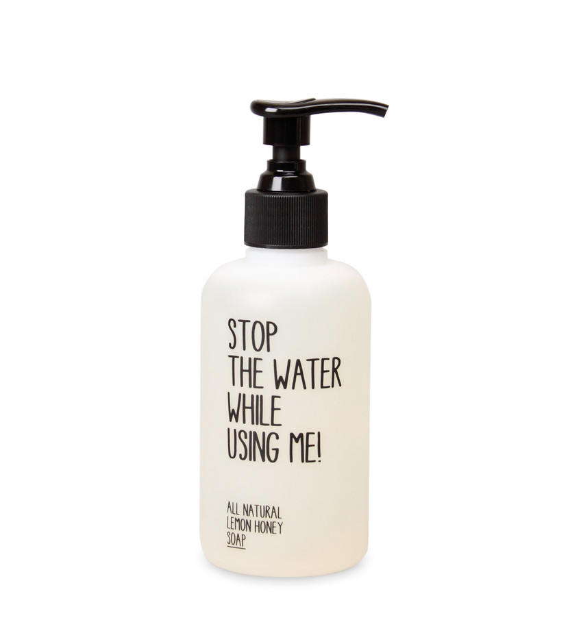 - Stop The Water While Using Me! - Lemon honey soap 200ml