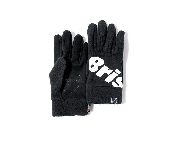 F.C.Real Bristol | PRODUCT | POLARTEC® FLEECE BIG LOGO TOUCH GLOVE