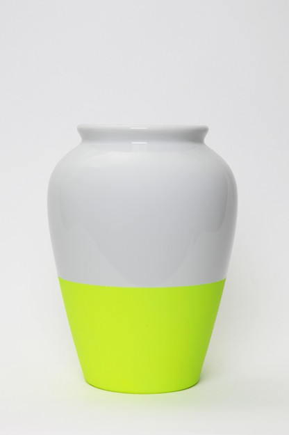 Hunting and Collecting Online Store - Fluo Vase Yellow