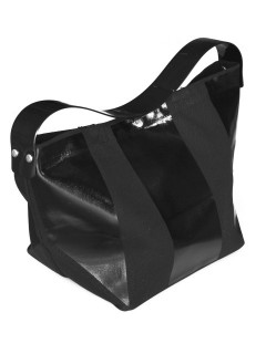 LOVE online store|WOMEN | TOGA  Rubber Lunch Bag (black)