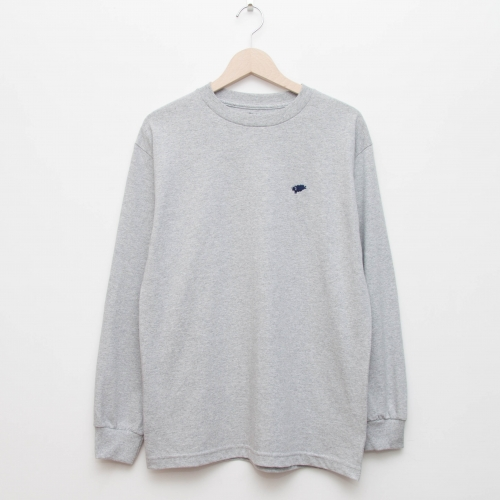 Basic L/S - Grey - cup and cone WEB STORE