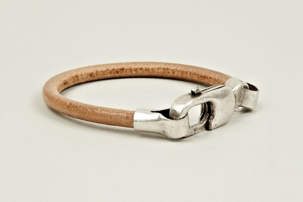 Maison Martin Margiela 2012 Pre-Fall Brass and Leather Bracelet | Hypebeast