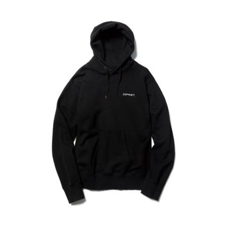 AUTHENTIC LOGO PULL OVER HOODY