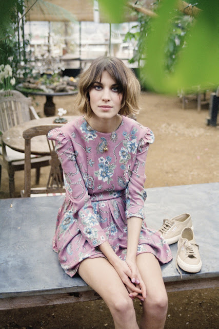 Threads, This & That: Alexa Chung for Superga on we heart it / visual bookmark #25402537