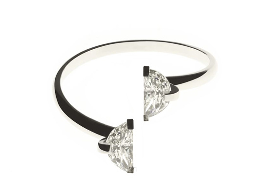 Double diamond engagement ring in Heritage collection by Maison Martin Margiela 1 | Jewelry | Vogue
