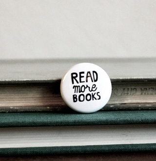 Read More Books 1 inch button pin by beverlyyy on Etsy