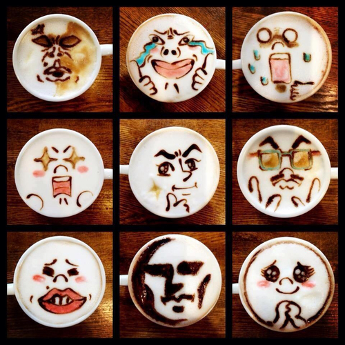 latte art :) | We Heart It