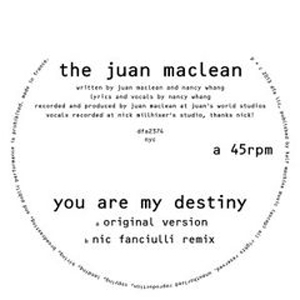 JUAN MACLEAN / YOU ARE MY DESTINY | Record CD Online Shop JET SET / レコード・CD通販ショップ ジェットセット