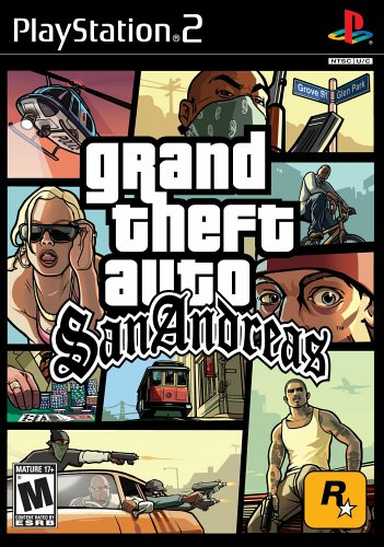 Amazon.com: Grand Theft Auto: San Andreas: Playstation 2: Video Games