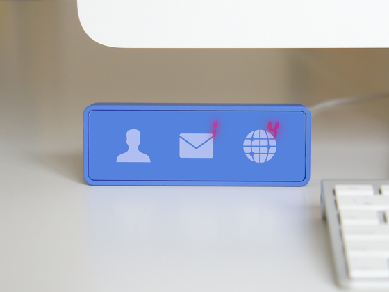 NOTICE : Physical Facebook Notifier by Cerevo USA LLC — Kickstarter