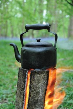Swedish Log Candle - perfect for camp cooking - better ... | Camp Gear