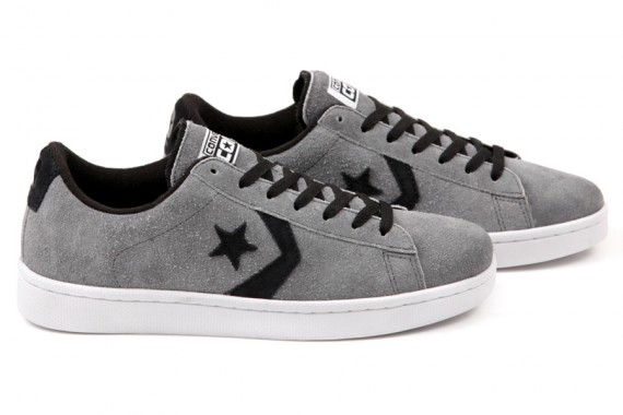 round about: CONS Pro Leather – Grey – Black – White