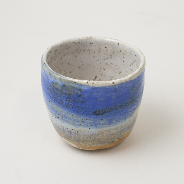 Blue Sweep - tea cup — KATAKANA NY