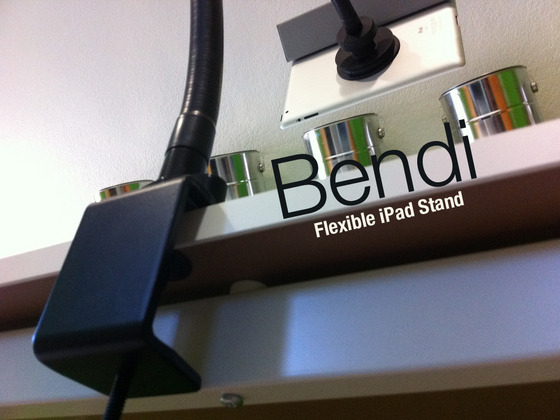 Bendi - The iPad Stand Exactly Where You Want by Eric Mann — Kickstarter