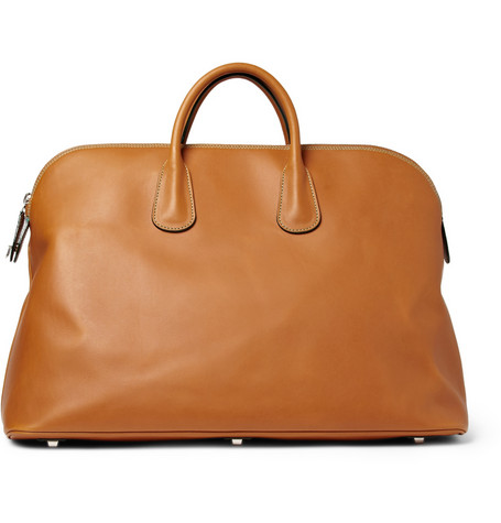 Valextra Leather Tote Bag | MR PORTER