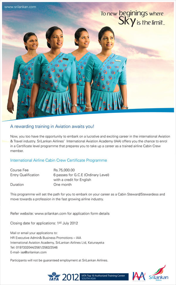 INTERNATIONAL AIRLINE CABIN CREW CERTIFICATE PROGRAMME
