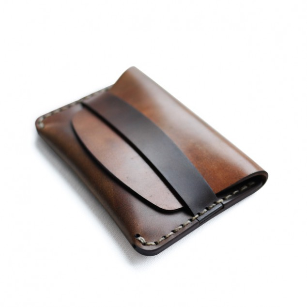 Cordovan Flap Slim Wallet | Leather Goods, Wallets, Bags, Accessories | Made in the USA