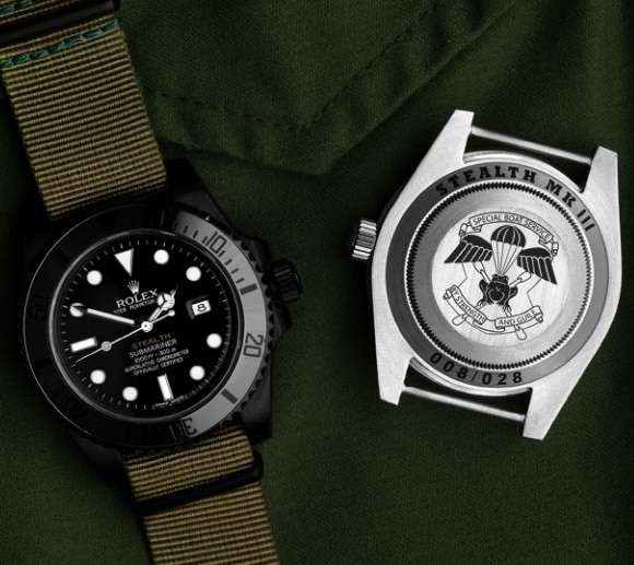 "The Classicist: James Bond Style - Project X's New British Military ""Stealth"" Rolexes"