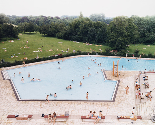 MoMA | The Collection | Andreas Gursky. Ratingen Swimming Pool. 1987