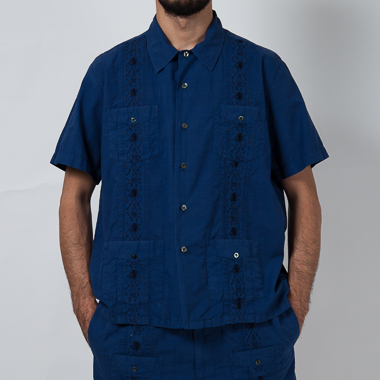PARTY CUBA SHIRT(NAVY) - SON OF THE CHEESE ONLINE SHOP