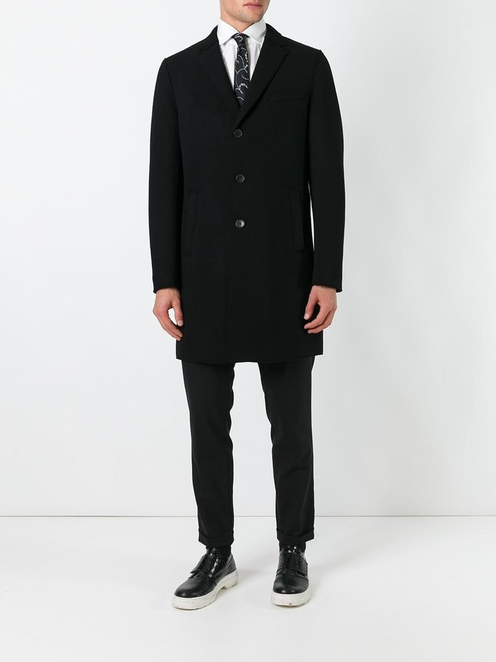 Boss Hugo Boss Single Breasted Coat - Giulio - Farfetch.com