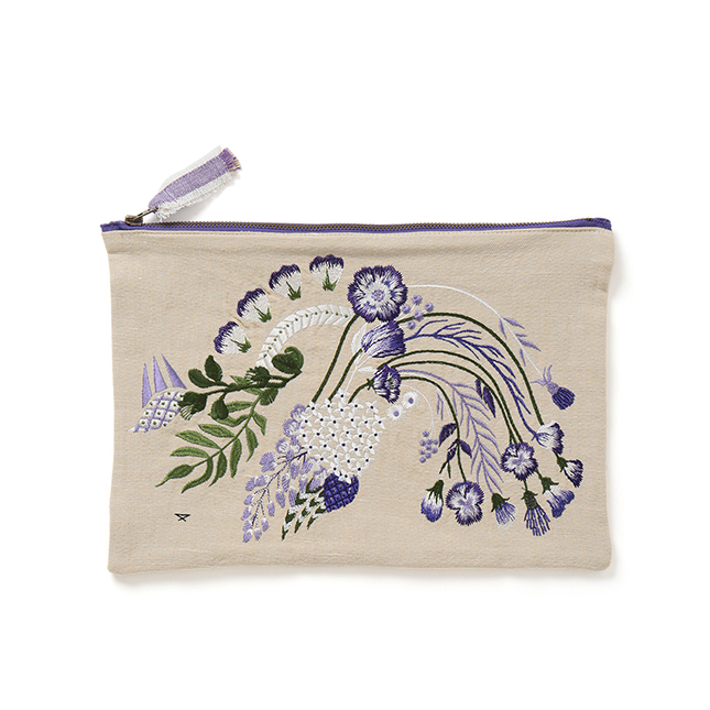 Exclusive Embroidery Clutch Bag | mame