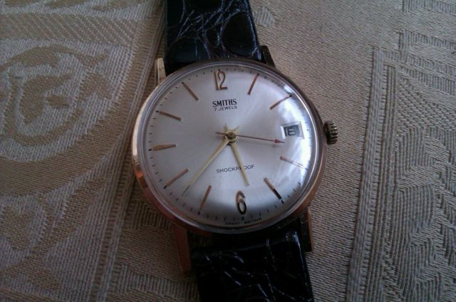 Vintage Gents 1960s Smiths watch with date   eBay