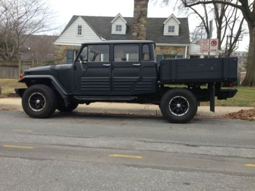 Buy used Custom 67' Land Cruiser Troop Carrier Body on 06' Tacoma 6spd Chassis in Bethesda, Maryland, United States
