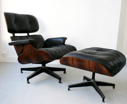 Kissthedesign / Lounge chair with ottoman / Charles & Ray Eames / Herman Miller