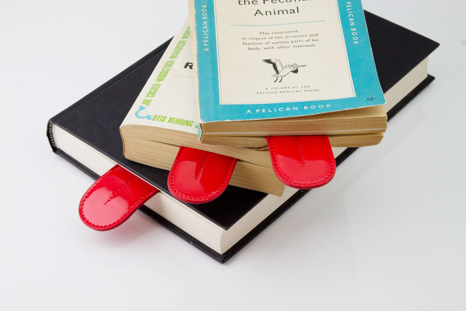 Big Mouth Bookmark : Tongue shaped bookmark really sticks out.